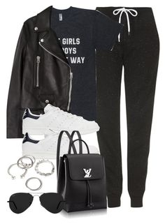 """""""Style #11580"""" by vany-alvarado ❤ liked on Polyvore featuring Topshop, Acne Studios, adidas Originals, Ray-Ban and Forever 21"""
