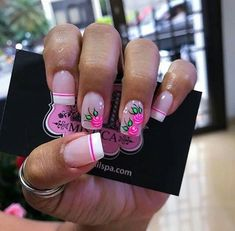 Hot Trendy Nail Art Designs that You Will Love Hot Pink Nails, Bright Nails, Nails Now, Love Nails, Trendy Nail Art, Cute Nail Art, Bling Nails, Diy Nails, Feet Nails