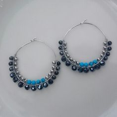 Turquoise  &  cutglassbeads