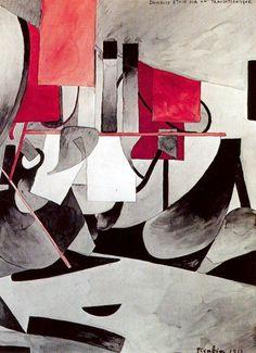 Francis Picabia, Danseuse étoile sur un transatlantique, (1913)