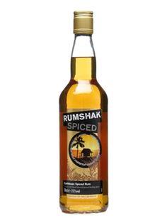 Rumshak Spiced Rum Caribbean Spirit Drink