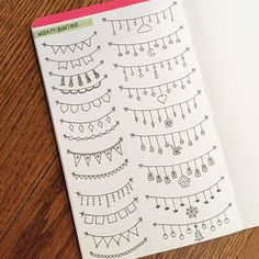 fun fonts and doodles bullet journal Bullet Journal Headers, Bullet Journal Banner, Bullet Journal Aesthetic, Bullet Journal Notebook, Bullet Journal Ideas Pages, Bullet Journal Inspiration, Note Doodles, Doodle Borders, Journal Fonts