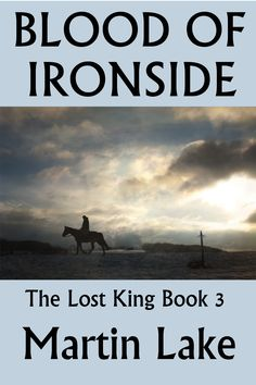 The cover of the third book in The Lost King series.
