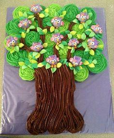 Birds in the Tree Cake