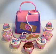 Dr. McStuffin - by Skmaestas @ CakesDecor.com - cake decorating website