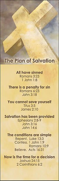 Bookmarks - Plan of Salvation | LifeWay Christian