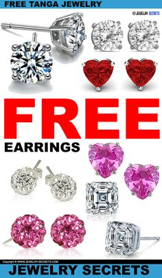 ► ► FREE Earrings from TANGA! ► ► Right NOW! ► ►