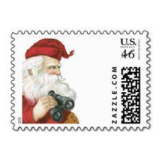 Santa Claus Postage Stamp