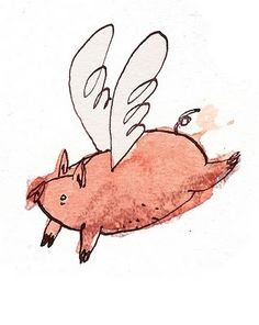 This is in honor of the fact that since Friday night, pigs must be flying somewhere! ;)