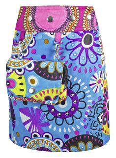 Sunsa Mädchenrock mit passender Tasche