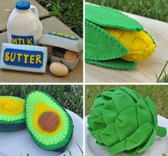 handmade play food - Google Search