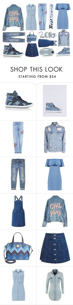 """""""denim rocks🤘🏻"""" by leticiax ❤ liked on Polyvore featuring Diesel, Citizens of Humanity, Hollister Co., Warehouse, Miss Selfridge, High Heels Suicide, Dooney & Bourke, Sans Souci, Dorothy Perkins and LE3NO"""