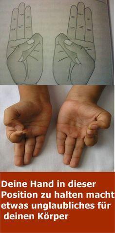 Deine Hand in dieser Position zu halten macht etwas unglaubliches für deinen Körper