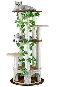 Cat Tree Furniture With Leaves - Realistic Cat Trees - Cat Trees That Look Like Trees - The Ultimate Guide To Cat Trees - Cool Cat Tree Plans