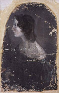 """Born in 1818 (d. 1848): the author of the indelible novel Wuthering Heights, Emily Brontë ─ Said her novelist sister Charlotte of her, """"My sister Emily loved the moors. Flowers brighter than the rose bloomed in the blackest of the heath for her; out of a sullen hollow in a livid hillside her mind could make an Eden. She found in the bleak solitude many and dear delights; and not the least and best-loved was – liberty."""""""
