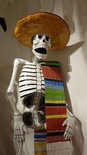 Dia de los Muertos: Calaveras de Papel Mache Aztec Art, Mexican Art, Day Of The Dead, Skull Art, Folklore, Sugar Skull, Ronald Mcdonald, Halloween, Animation