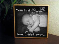 Custom Baby Photo Wood Block RESIN Sealed by LittleGemGirl on Etsy, $30.00