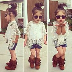cool Cute -- I swear, toddlers dress better than me now-a-days. Lol...