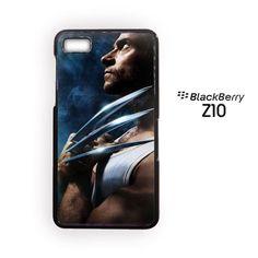 Wolverine hugh jackman x-men for blackberry Z10/Q10 3D phonecases