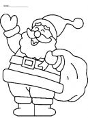 Christmas is but six months away but fast approaching. These Christmas themed coloring pages are perfect for the occasion. Keep the little ones busy while you cook up a storm in the kitchen. This templates show Santa Clause bearing gifts for the little ones. Simply download and print to get started. Don't forget to repin and share with your friends!