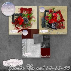 bee_combovol585960_pv1 Digital Scrapbooking, Christmas Wreaths, Creations, Bee, Holiday Decor, Winter, Home Decor, Winter Time, Honey Bees