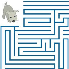 April Fools' Day kid friendly joke - make believe maze (has no solution) totally wanna do this to a kid.
