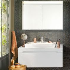 Banyo Dolap Modelleri kategorisindeki Folda Banyo Dolabı Beyaz 100 cm ürününe göz atın | Koçtaş