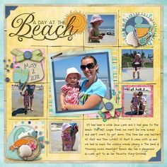 I need to get back into scrapping... such a cute layout!