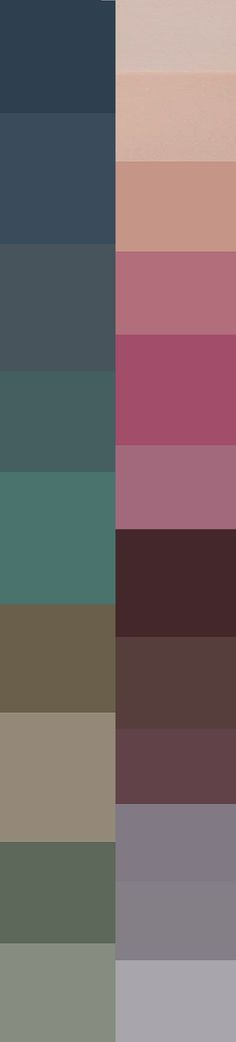 I pretty much like all these colors. Except for maybe that bright, bright pink and the army green one.