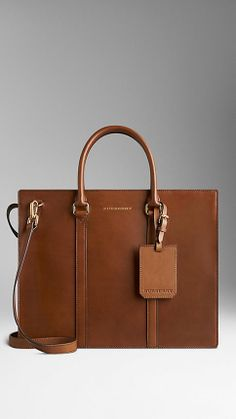 Sartorial Leather Briefcase | Burberry