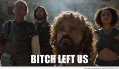 Daenerys left everyone behind