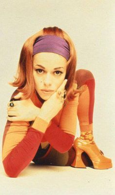Lady Miss Kier of Deee Lite -1990 LONDON