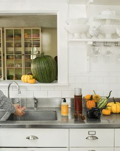 Fall isn't just about the harvest, it's about prepping for your next one, too. Don't let the cooler temperatures fool you, this time of year is great for planting because the soil's still warm and moist. When the job's all done, make sure to head back inside and scrub up with our Orange Clove Hand Soap. It also wouldn't be a bad idea to wipe your feet off at the door before going in – nothing ruins a good day like a dirty kitchen!