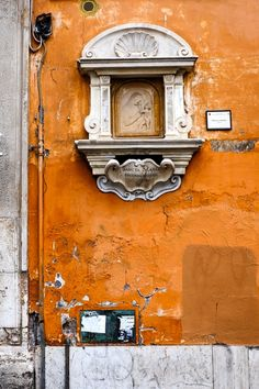 A Wall in Travestere, Rome, Italy