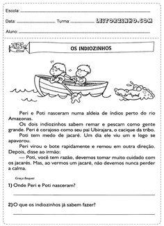 Atividades de português 3° ano interpretação de texto
