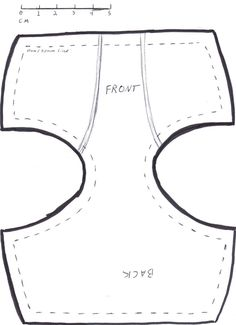 bjd 60cm underwear pattern by ~DedHampster on deviantART