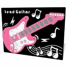 Rock Band Lead Guitar Play Panel. Who doesn't want to try the lead? Great fun for the playground.
