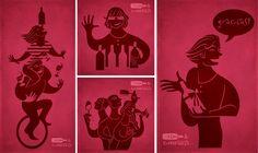 "More characters for ""Vino & compañía"" | David de Ramón | Portfolio"