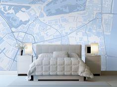 Карты на стенах: 15 стильных решений – Вдохновение