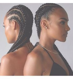 Natural Makeup - Les cornrows, chic pour un look de soirée - You only need to know some tricks to achieve a perfect image in a short time. Pelo Natural, Natural Hair Care, Natural Hair Styles, Natural Makeup, African Hairstyles, Braided Hairstyles, Side Hairstyles, Hairstyles Pictures, Black Hairstyles