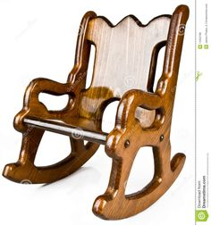 kids wood rocking chair plans