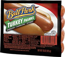 Ball Park® - So American You Can Taste It these.  Not only do these taste great but such a healthy alternative to the fatty hotdogs