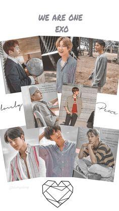 Exo Group Photo, Park Chanyeol, Exo Exo, Exo Album, Exo Lockscreen, Exo Members, Kyungsoo, Kpop, Poster