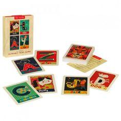 Little Boo-Teek - Alphabet Matching Card Game | Kids Educational Toys | Designer Kids Online Shopping