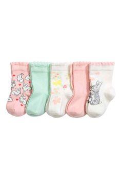 5 pár zokni - Mentazöld - GYEREK | H&M HU 1