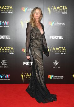 Tammy MacIntosh arrives ahead of the 6th AACTA Awards Presented by Foxtel at The Star on December 7, 2016 in Sydney, Australia.