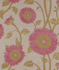 Beacon Hill Sunflowers Rose Fabric...wowsa!!  But 200. yd.
