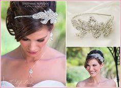 Gisele Headband $160 from The Left Bank...gorgeous wedding hair piece