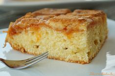 Gâteau à la confiture Algerian Recipes, Algerian Food, Plain Cake, Cornbread, Vanilla Cake, Coco, Biscuits, Baking, Ethnic Recipes