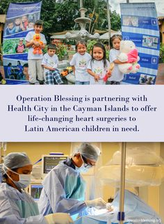 NEW PARTNERSHIP SAVES HEARTS: A new partnership between Operation Blessing International and Health City in the Cayman Islands is healing hearts for impoverished children in Latin America. Read more... #medical #surgery #humanitarian
